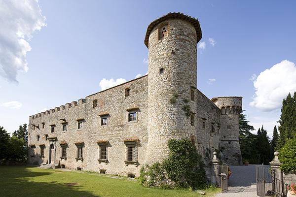 torre Castello di Meleto