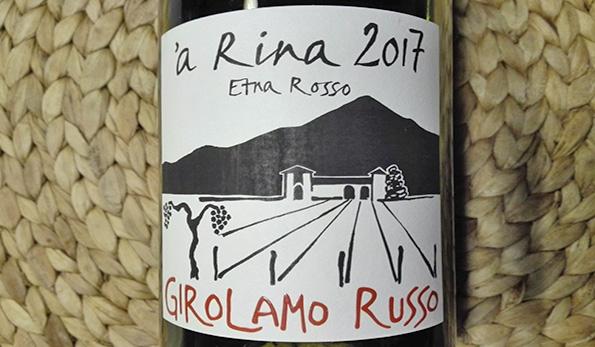 Etna Rosso 'a Rina 2017 Girolamo Russo