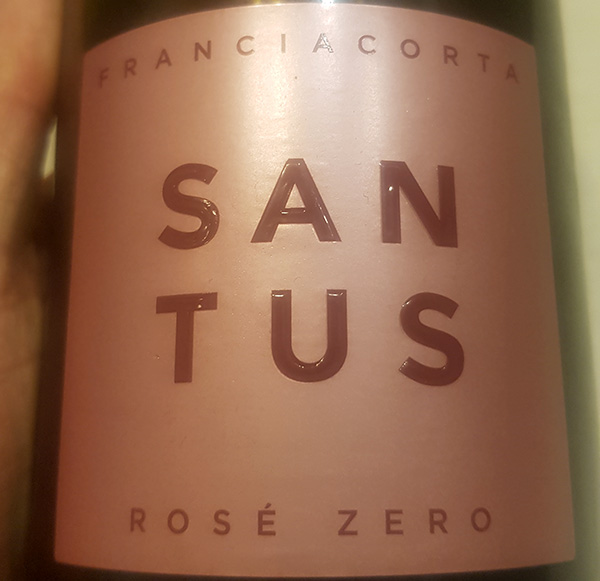 Santus – Franciacorta Rosè Zero 2015