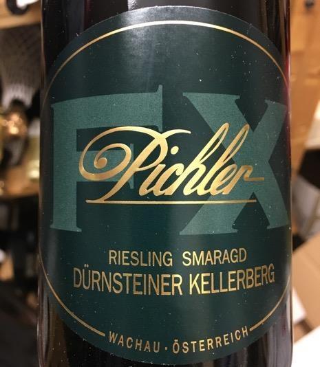 Riesling Smaragd Dürnsteiner Kellerberg 2017 Weingut F.X. Pichler