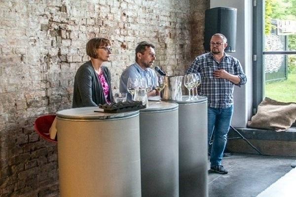 Barbara e Marcin Płochoccy intervistati da Mariusz Kapczyński
