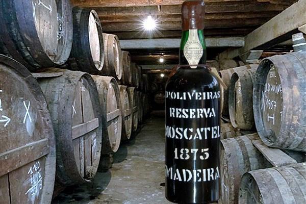 Madeira Moscatel Reserva 1875 D'Oliveiras