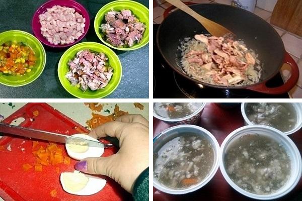 ingredienti Marbré di carni miste