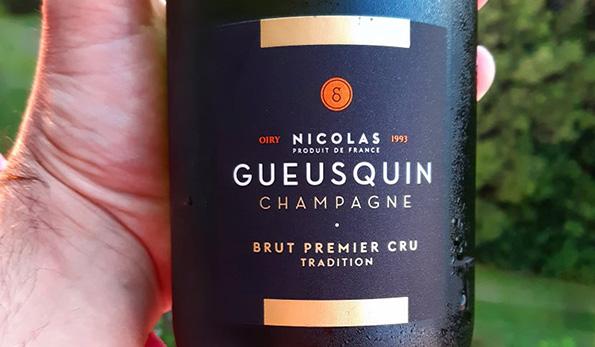 Champagne Brut Premier Cru Tradition Nicolas Gueusquin
