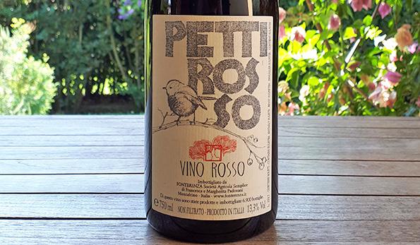 Pettirosso 2017 Fonterenza, il vino popolare