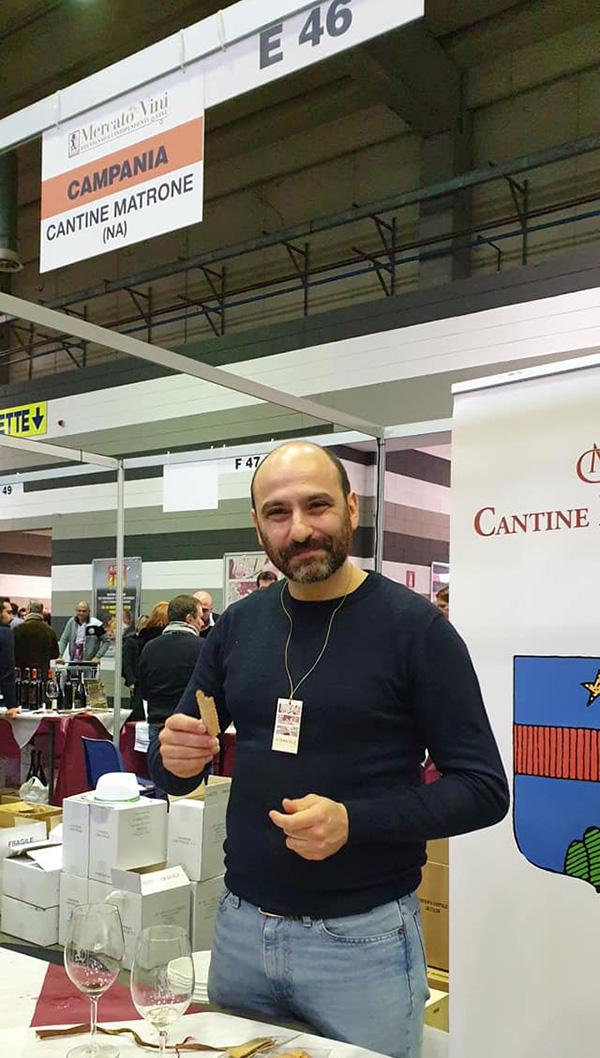 Andrea Matrone al mercato FIVI