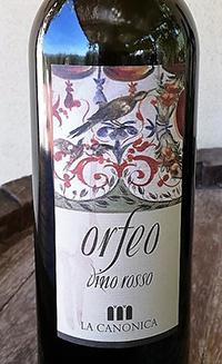 Vino Rosso Orfeo La Canonica