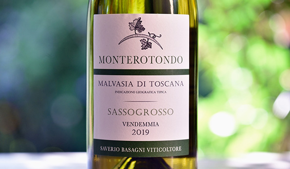 Malvasia Sassogrosso 2019 Monterotondo: la natura ringrazia