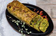 Plumcake salato agli spinaci con Gorgonzola piccante e Vinsanto del Chianti Classico