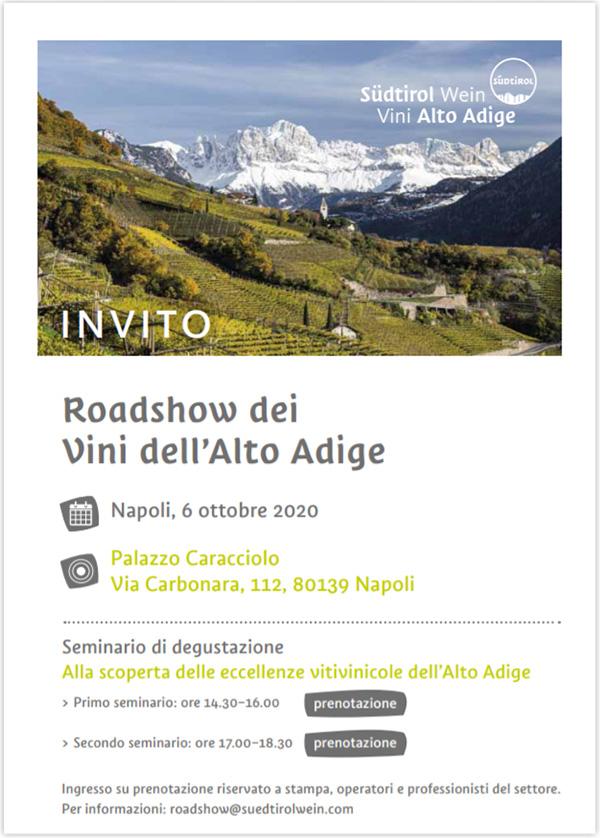 Invito Vini Alto Adige Napoli