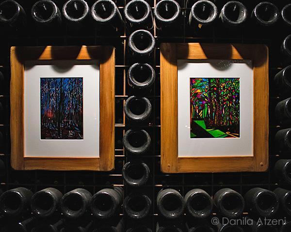 Mostra d'arte nelle cantine storiche di Tenuta Carretta