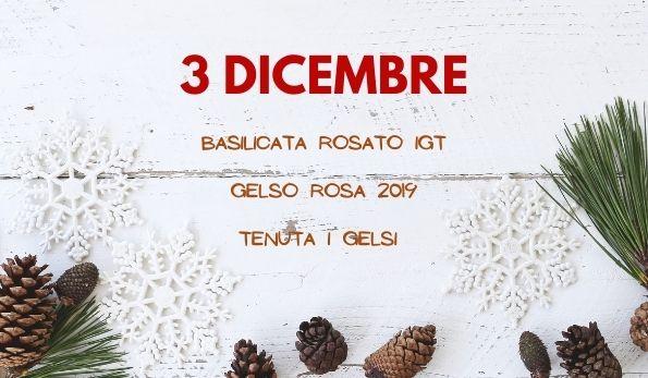 Basilicata Rosato Gelso Rosa 2019 Tenuta I Gelsi
