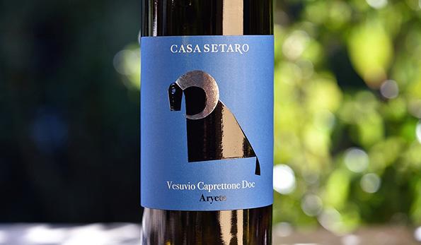 Vesuvio Caprettone Aryete 2019 Casa Setaro
