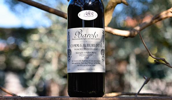 Barolo Vigneto Monvigliero '99 Burlotto, l'inconfondibile cru di Verduno