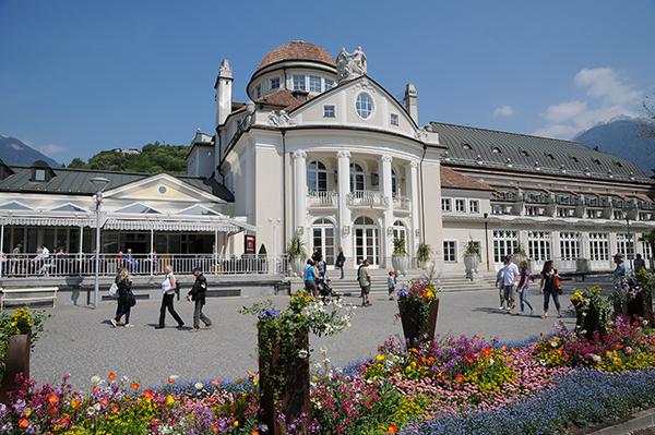 Kurhaus, la sede dell'evento meranese