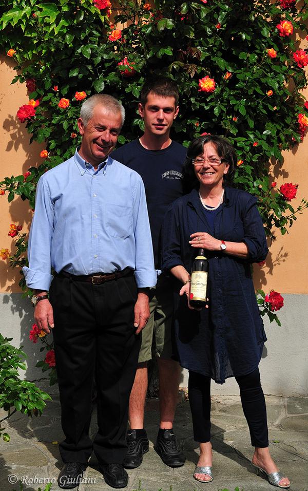 Giovanna, Italo e il figlio Davide