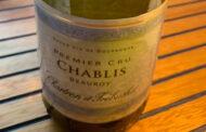 Il vino in 300 battute: Chablis Premier Cru Beauroy 2018 Chartron et Trébuchet