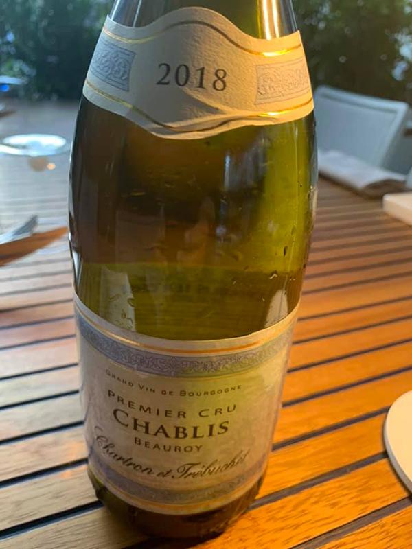 Chablis 1er Cru Beauroy 2018 Chartron et Trébuchet