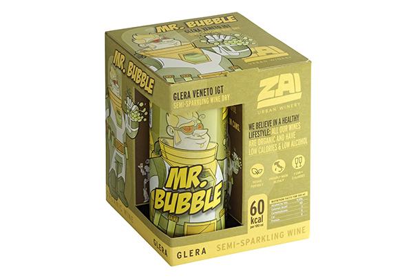 Mr Bubble box