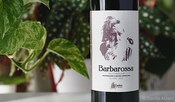 Valli Ossolane Rosso Barbarossa 2018 La Cantina di Tappia