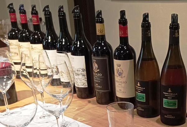 Bottiglie Barone Ricasoli