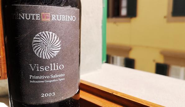 Primitivo Visellio 2003 Tenute Rubino