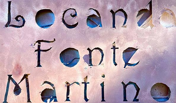 Il fascino di Cervara, l'attraente Locanda Fonte Martino e il 28 Quintali che pesa troppo