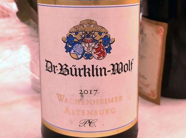 Riesling Trocken Wachenheimer Altemburg 2017 Dr.Bürklin-Wolf