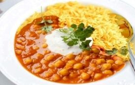 Curry di ceci con Franciacorta Extra Brut