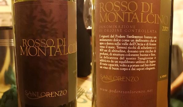 Rosso di Montalcino 2003 Sanlorenzo